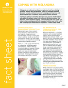 Thumbnail of the PDF version of Coping With Melanoma