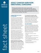 Thumbnail of the PDF version of Adult Cancer Survivor: Emotional Concerns