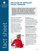 Thumbnail of the PDF version of The Value of Oncology Social Workers