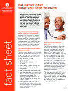 Thumbnail of the PDF version of Palliative Care: What You Need to Know