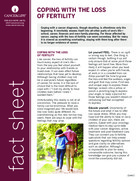 Thumbnail of the PDF version of Coping With the Loss of Fertility