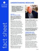Thumbnail of the PDF version of Understanding Medicare