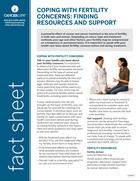 Thumbnail of the PDF version of Coping With Fertility Concerns: Finding Resources and Support