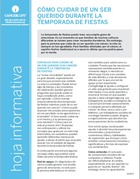 Thumbnail of the PDF version of Cómo cuidar de un ser querido durante la temporada de fiestas