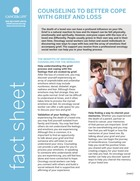 Thumbnail of the PDF version of Counseling to Better Cope With Grief and Loss