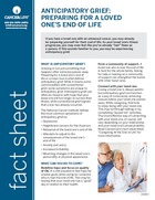 Thumbnail of the PDF version of Anticipatory Grief: Preparing for a Loved One's End of Life
