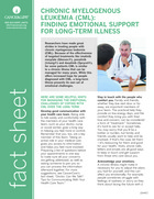Thumbnail of the PDF version of Chronic Myelogenous Leukemia: Finding Emotional Support for Long-term Illness