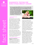 Thumbnail of the PDF version of Diagnostic Tests for Early-Stage Breast Cancer