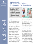 Thumbnail of the PDF version of Lung Cancer: New Tools for Making Decisions About Treatment