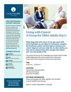 129 living with cancer a group for older adults 65