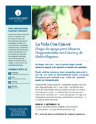 150 la vida con cancer grupo de apoyo para mujeres diagnosticadas con cancer y de habla hispana