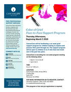 167 color of grief support program