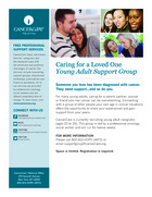 26 young adult caregiver support group