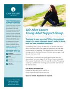 87 life after cancer young adult post treatment support group